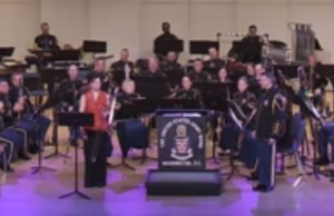"Megumi Kanda premieres ""Red Dragonfly"" Concerto for Trombone and Band with The US Army Band!"